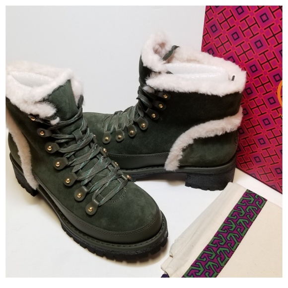 0eb778807af Tory Burch - cooper shearling bootie